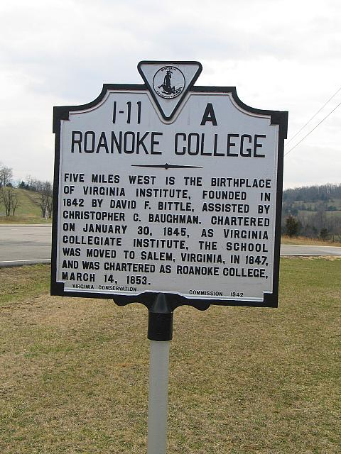 VA-I11A Roanoke College
