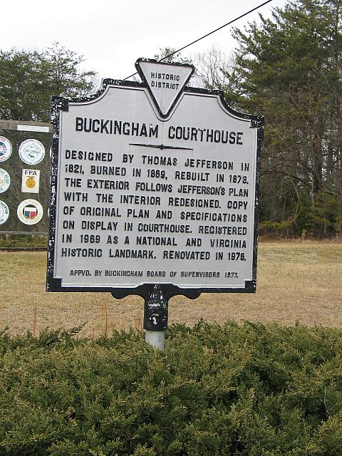 VA-BCH2 Buckingham Courthouse