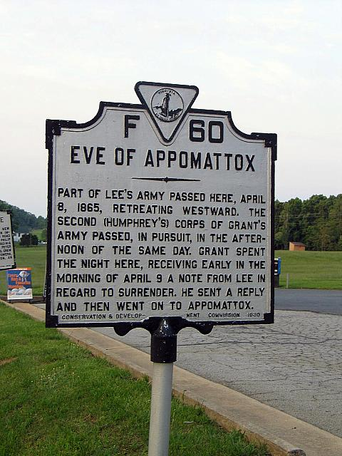 VA-F60 Eve of Appomattox