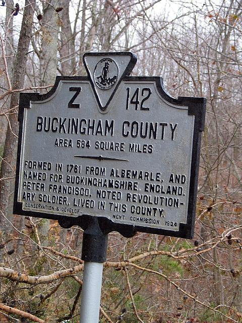 VA-Z142 Buckingham County