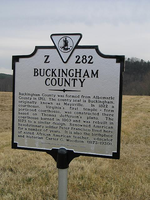 VA-Z282 Buckingham County