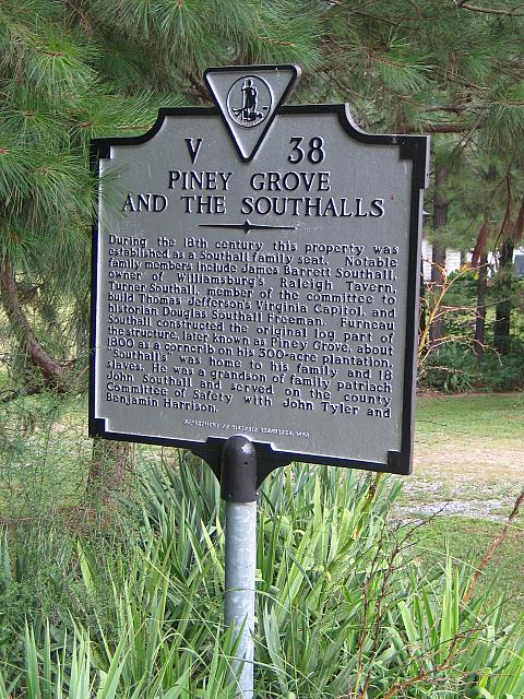 VA-V38 Piney Grove and the Southalls