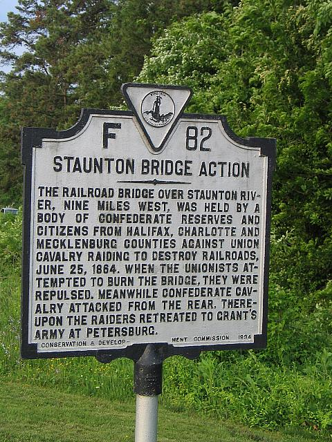 VA-F82 Staunton Bridge Action