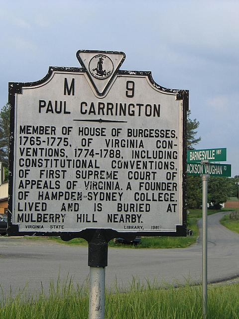 VA-M9 Paul Carrington