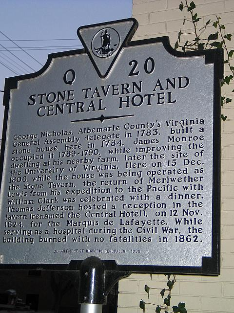 VA-Q20 Stone Tavern and Central Hotel