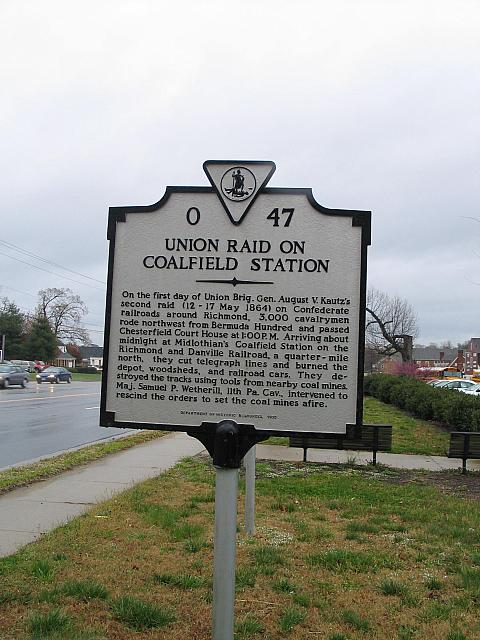 VA-O47 Union Raid on Coalfield Station