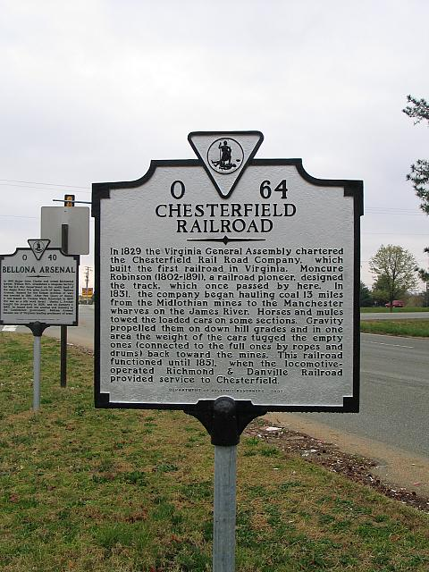 VA-O64 Chesterfield Railroad
