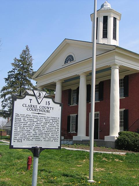 VA-T15 Clarke County Courthouse