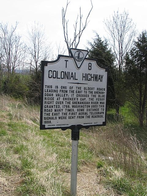 VA-T8 Colonial Highway