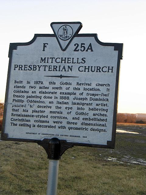 VA-F25A Mitchells Presbyterian Church