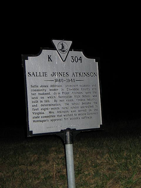 VA-K304 Sallie Jones Atkinson