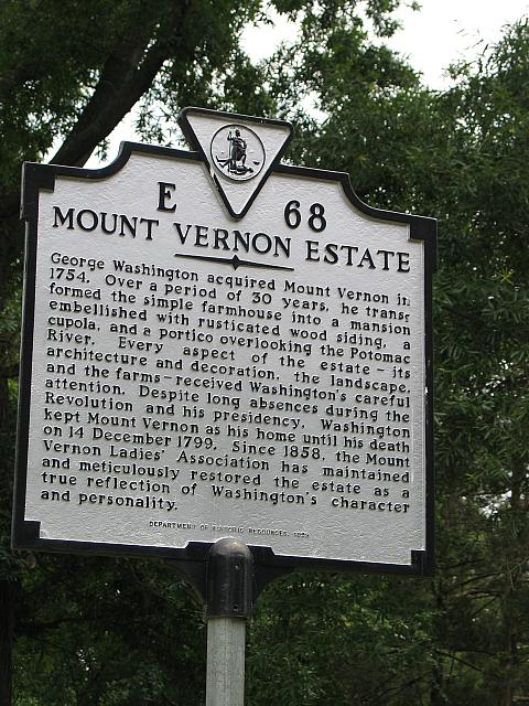VA-E68 Mount Vernon Estate
