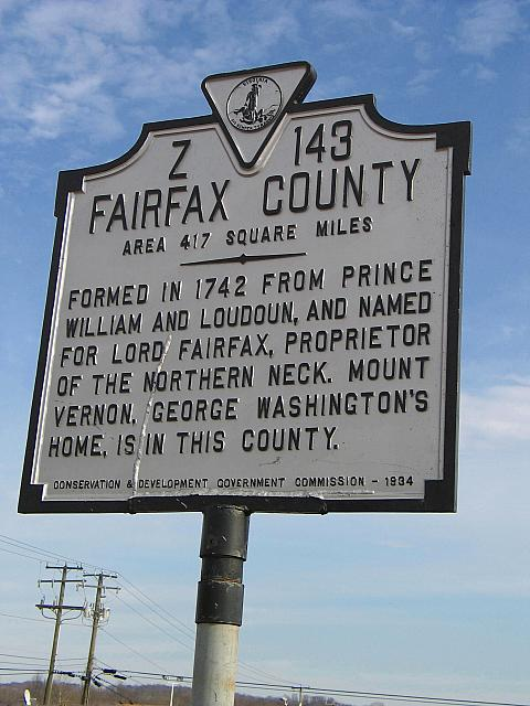 VA-Z143 Fairfax County