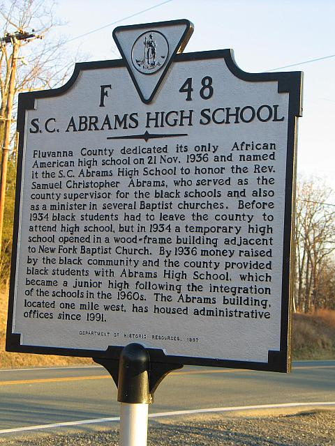 VA-F48 S.C. Abrams High School