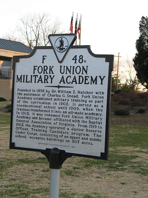 VA-F48A Fork Union Military Academy