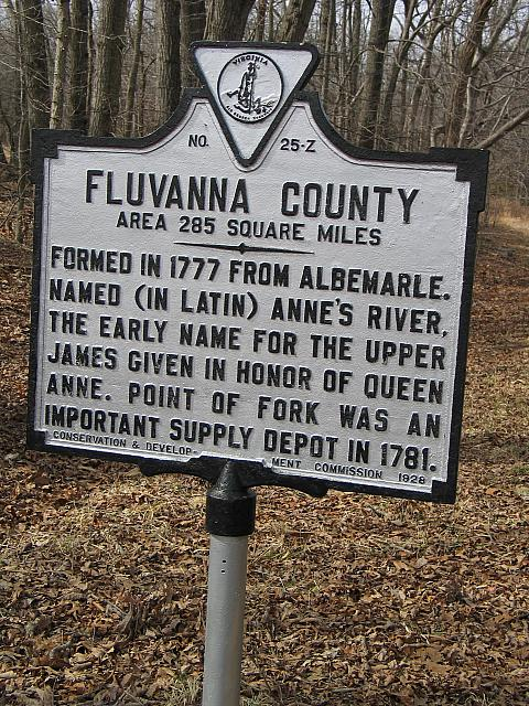 VA-Z25 Fluvanna County