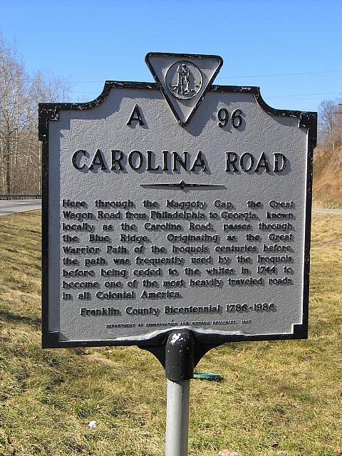 VA-A96 Carolina Road