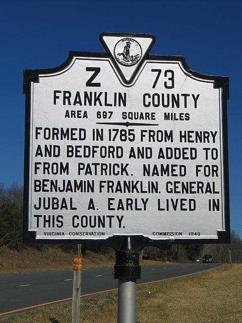 VA-Z73 Franklin County