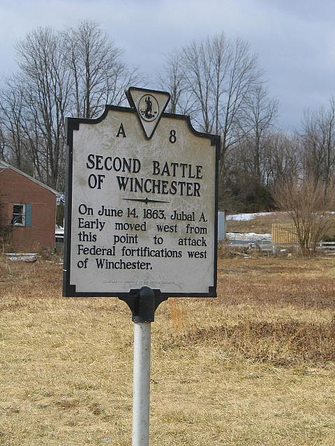 VA-A8 Second Battle of Winchester