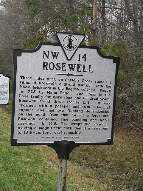 VA-NW14 Rosewell