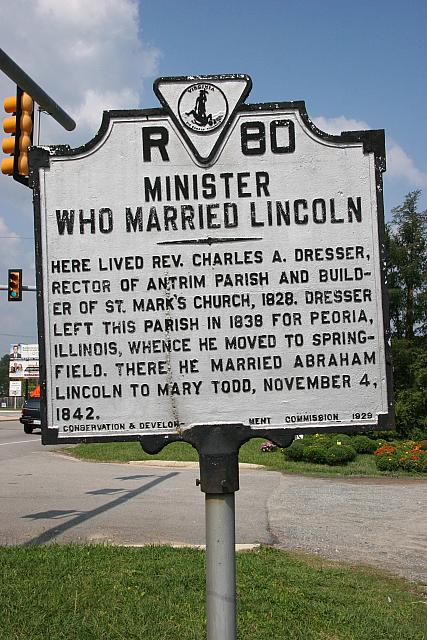 VA-R80 Minister Who Married Lincoln