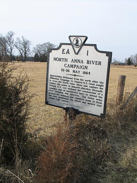 VA-EA1 North Anna River Campaign