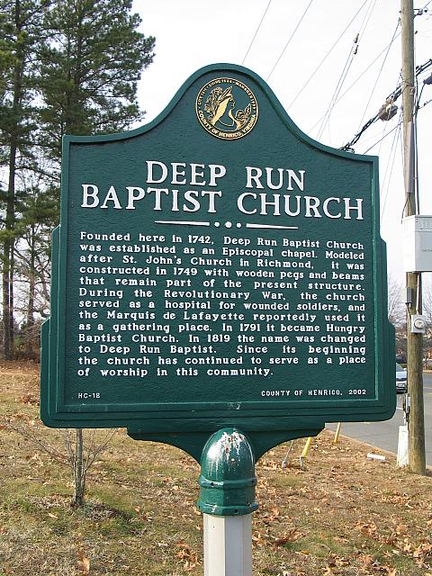 VA-HC18 Deep Run Baptist Church
