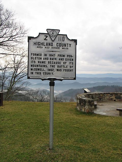 VA-Z110 Highland County