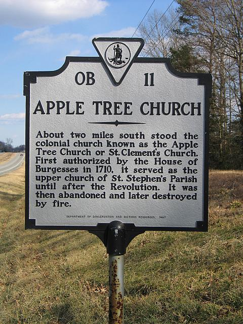 VA-OB11 Apple Tree Church