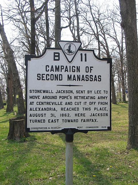 VA-B11 Campaign of Second Manassas
