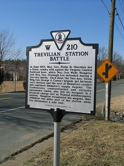 VA-W210 Trevilian Station Battle
