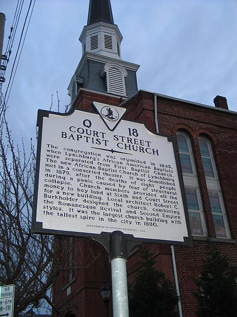 VA-Q18 Court Street Baptist Church