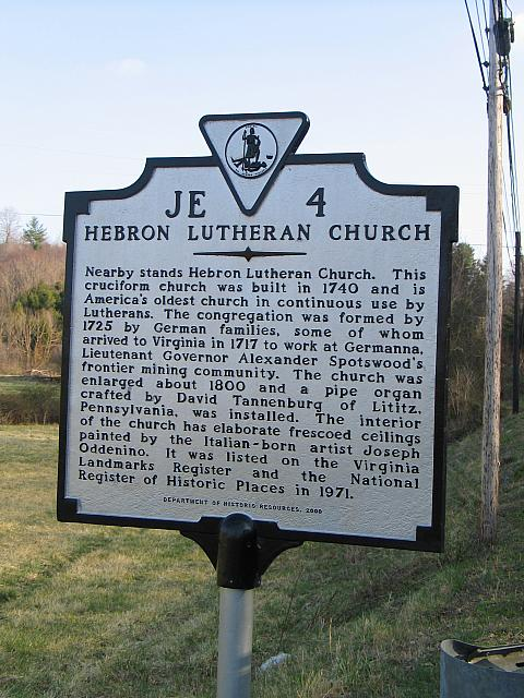 VA-JE4 Hebron Lutheran Church