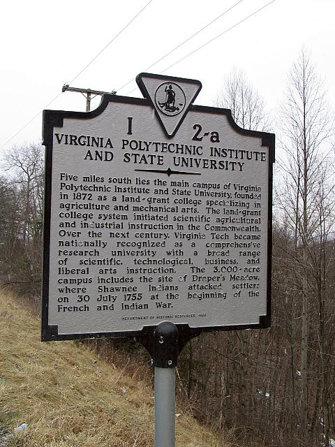 VA-I2A Virginia Polytechnic Institute and State University