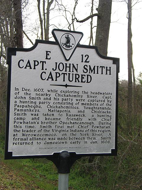 VA-E12 Capt. John Smith Captured