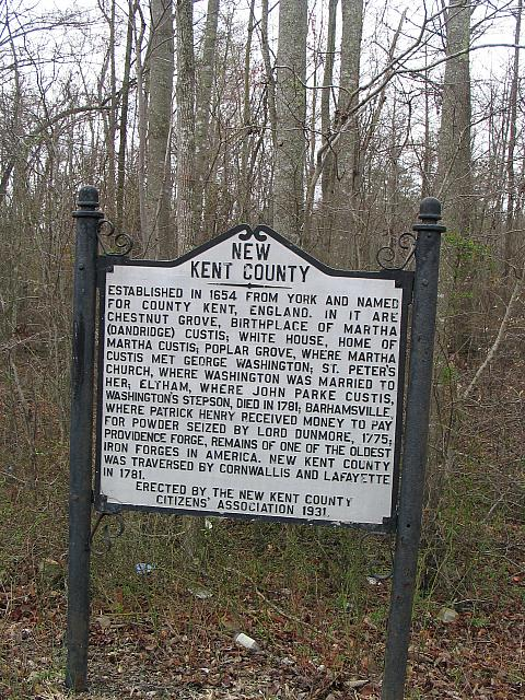 ZZ-NK002 New Kent County