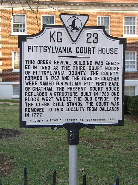 VA-KG23 Pittsylvania Court House