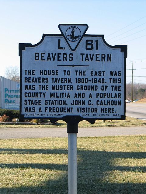 VA-L61 Beavers Tavern