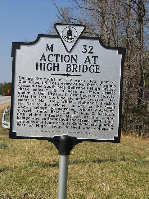 VA-M32 Action at High Bridge