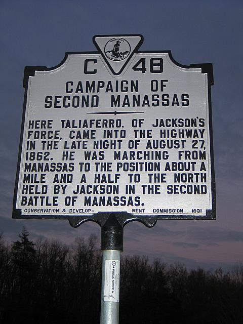 VA-C48 Campaign of Second Manassas