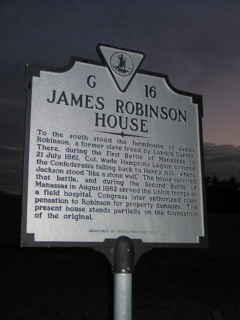 VA-G16 James Robinson House