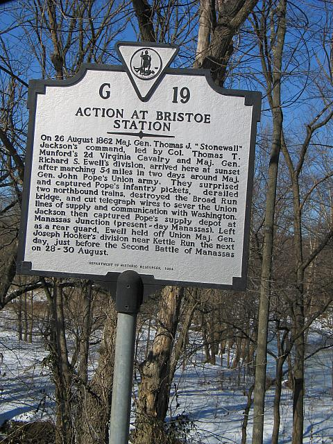 VA-G19 Action at Bristoe Station