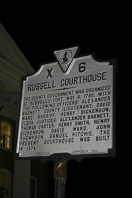 VA-X6 Russell Courthouse