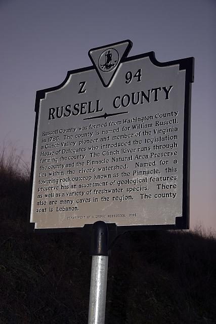 VA-Z94 Russell County