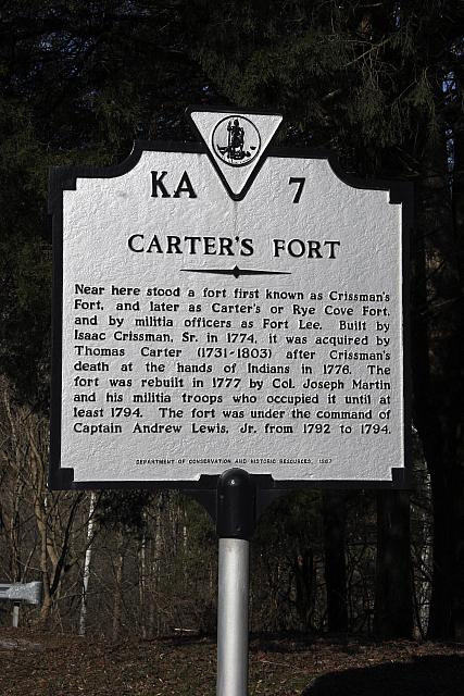 VA-KA7 Carters Fort
