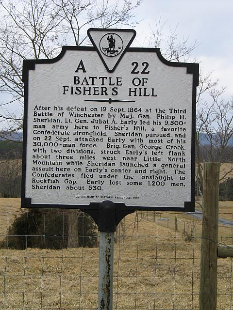 VA-A22 Battle of Fishers Hill
