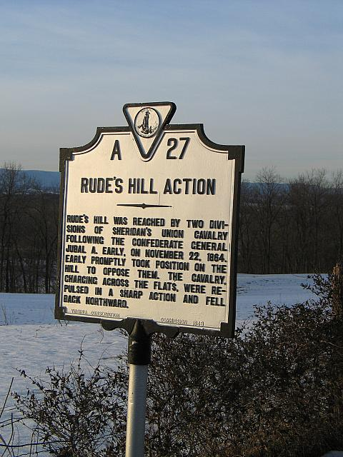 VA-A27 Rudes Hill Action