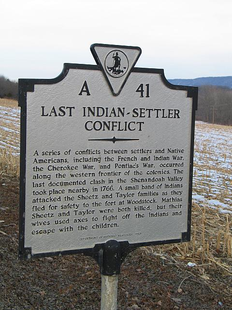 VA-A41 Last Indian-Settler Conflict