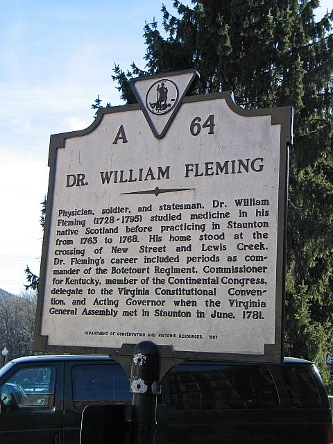 VA-A64 Dr. William Fleming