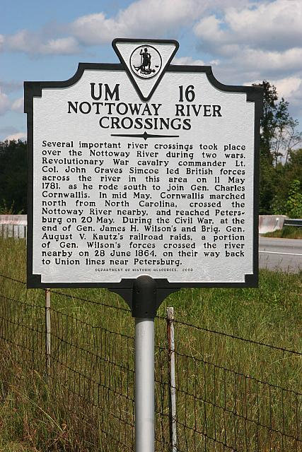 VA-UM16 Nottoway River Crossings